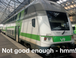Finland prepares (very slowly) to break up rail passenger monopoly – with lots of pitfalls in path