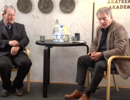 Video of Finnish president interviewing author Paul Auster in Helsinki