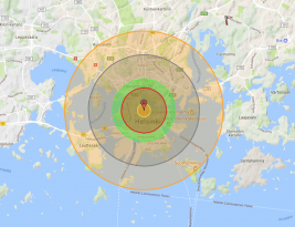 North Korea's nuclear bomb would have destroyed Helsinki…