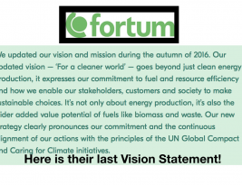 Leader – 28.9.2017 – Finland is CleanTech leader of the world… until the 54% government-owned Fortum buys German & Russian dirty fossil fuel plants