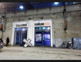 Invitation to support Artists at Forum Box in Helsinki