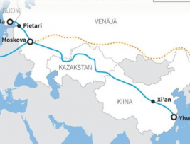 Finnish city starts efficient railroad freight service to China