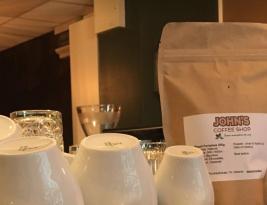 John's Coffee Shop on Iso Roba 15 – Great Rwandan Coffee and more…