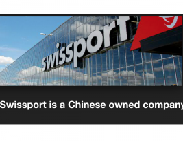 Swissport, a Chinese company owned HNA, is experiencing plenty of troubles, and they look after our main airport in Finland…