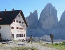 Healthcare and sad death in Dolomites
