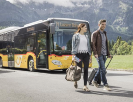 Swiss use public transport much more than Finns…