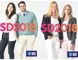 Swedish election 9.9.18 – too many smiling candidates