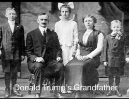 German draft-dodger immigrant Trump died 100 years ago