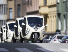 Great electric Pod Taxis in Stockholm