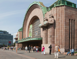 Helsinki Railway Station is a Trash Dump