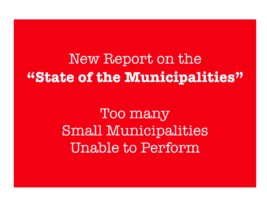 Important Disclosures in New Municipal Report