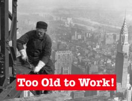 Employers Systematically Reduce Older Folk