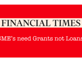 FT's Best Writers – Help SME's with Cash!