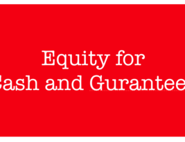 EBC & Governments Should Receive Equity in Supported Banks